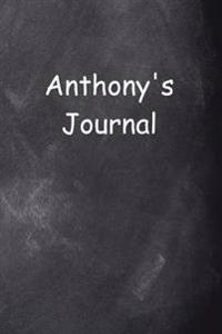 Anthony Personalized Name Journal Custom Name Gift Idea Anthony: (Notebook, Diary, Blank Book)