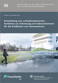 Entwicklung von verhaltensbasierten Verfahren zur Erkennung von Fahrerintention für die Prädiktion von Fahrmanövern.