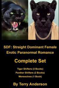Sdf: Straight Dominant Female Complete Set Tigers, Panthers, and Werewolves
