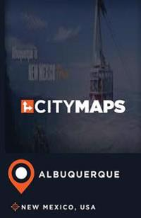 City Maps Albuquerque New Mexico, USA