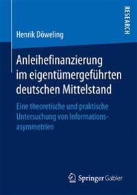 Anleihefinanzierung Im Eigentümergeführten Deutschen Mittelstand