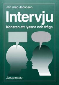 Intervju - Konsten att lyssna och fråga