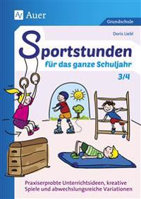 Sportstunden für das ganze Schuljahr 3-4