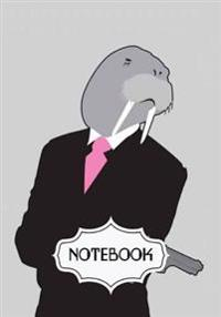 Notebook Journal: The Walrus: Pocket Notebook Journal Diary, 120 Pages, 7 X 10 (Blank Notebook Journal)