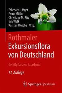 Rothmaler - Exkursionsflora Von Deutschland, Gefapflanzen: Atlasband