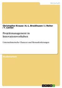 Projektmanagement in Innovationsvorhaben