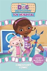 Disney Doc McStuffins: Lambie and the McStuffins Babies Cinestory Comic