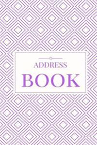Purple Address Book: For Contacts, Addresses, Phone Numbers, Emails & Birthdays
