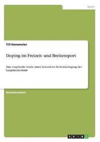 Doping Im Freizeit- Und Breitensport