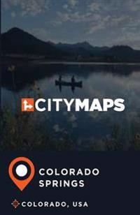 City Maps Colorado Springs Colorado, USA