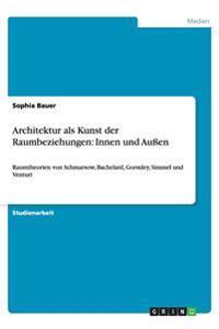 Architektur ALS Kunst Der Raumbeziehungen