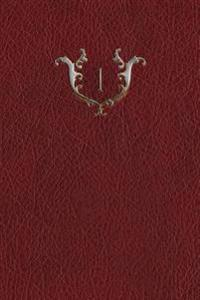 Monogram 1 Blank Book