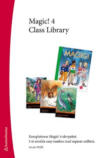 Magic! 4 Class Library - Easy Readers (3 st) med ordlista