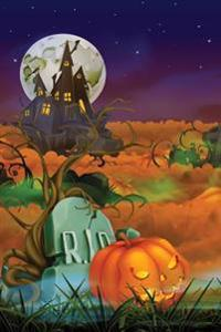 Tombstone Jack-O-Lantern Notebook: 150 Page Notebook Journal Diary