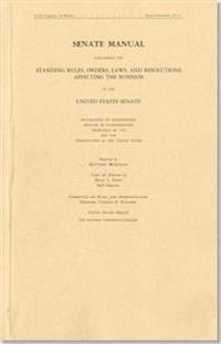 Senate Manual: 2013