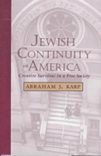 Jewish Continuity in America