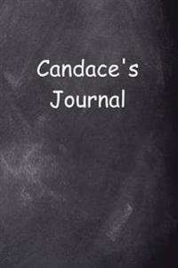 Candace Personalized Name Journal Custom Name Gift Idea Candace: (Notebook, Diary, Blank Book)