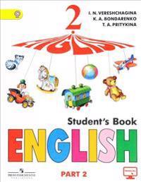 English 2: Student's Book: Part 2 / Anglijskij jazyk. 2 klass. Uchebnik. V 2 chastjakh. Chast 2