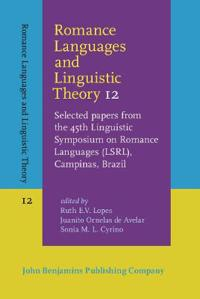 Romance Languages and Linguistic Theory 12