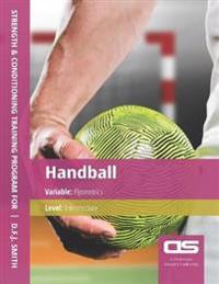 DS Performance - Strength & Conditioning Training Program for Handball, Plyometrics, Intermediate