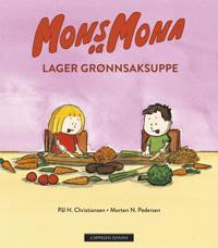 Mons og Mona lager grønnsaksuppe