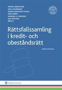 Rättsfallssamling i kredit- och obeståndsrätt