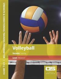 DS Performance - Strength & Conditioning Training Program for Volleyball, Stability, Advanced