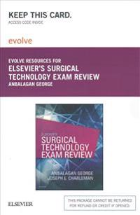 Elsevier's Surgical Technology Exam Review Evolve Access Card