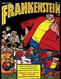 Frankenstein: Volume3: Frankenstein, Frankenstein Comic, Comic Books for Kids, Horror Comics, Monsters Comics