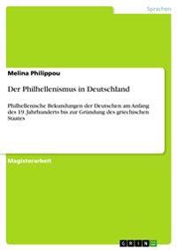 Der Philhellenismus in Deutschland