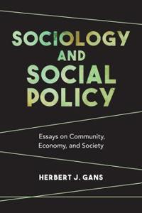 Sociology and Social Policy: Essays on Community, Economy, and Society