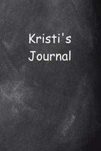 Kristi Personalized Name Journal Custom Name Gift Idea Kristi: (Notebook, Diary, Blank Book)