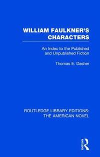 William Faulkner's Characters
