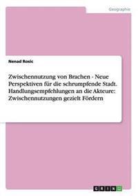 Zwischennutzung Von Brachen - Neue Perspektiven Fur Die Schrumpfende Stadt. Handlungsempfehlungen an Die Akteure