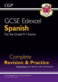 New GCSE Spanish Edexcel Complete Revision & Practice (with CD & Online Edition) - Grade 9-1 Course
