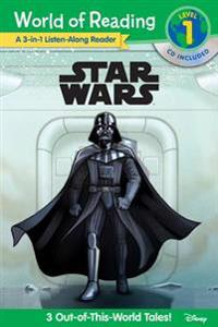 Star Wars: A 3-In-1 Listen-Along Reader [With Audio CD]