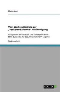"""Vom Werkstattprinzip zur """"verlustreduzierten"""" Fließfertigung"""