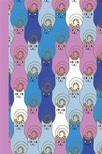 Journal: Cats 6x9 - Graph Journal - Journal with Graph Paper Pages, Square Grid Pattern