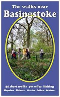Walks near basingstoke - 44 short  walks - 4-6 miles linking kingsclere, si