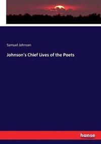 Johnson's Chief Lives of the Poets