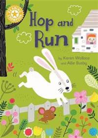 Reading champion: hop and run - independent reading yellow 3