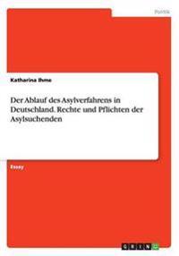 Der Ablauf Des Asylverfahrens in Deutschland. Rechte Und Pflichten Der Asylsuchenden