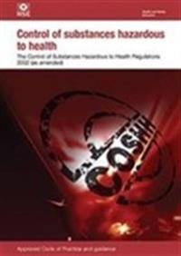 Control of substances hazardous to health regulations 2002 - approved code