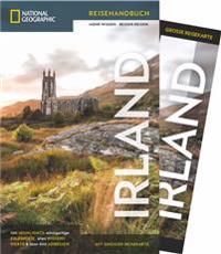 National Geographic Reiseführer Irland: Mit Karte, Sehenswürdigkeiten und Geheimtipps von Irland wie Waterford, Ring of Kerry und Cliffs of Moher, Connemara, Dublin und Belfast.