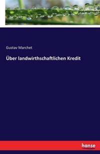 Uber Landwirthschaftlichen Kredit