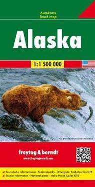 Alaska, Autokarte 1:1 500 000