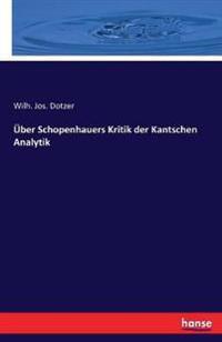 Uber Schopenhauers Kritik Der Kantschen Analytik