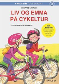 Liv og Emma på cykeltur