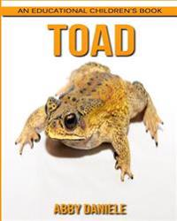 Toad! an Educational Children's Book about Toad with Fun Facts & Photos