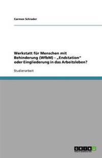 """Werkstatt F r Menschen Mit Behinderung (Wfbm) - """"endstation Oder Eingliederung in Das Arbeitsleben?"""